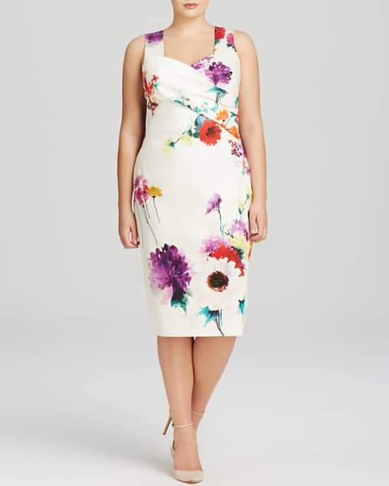 Marina Rinaldi Plus Egregio Dress on TheCurvyFashionista.com