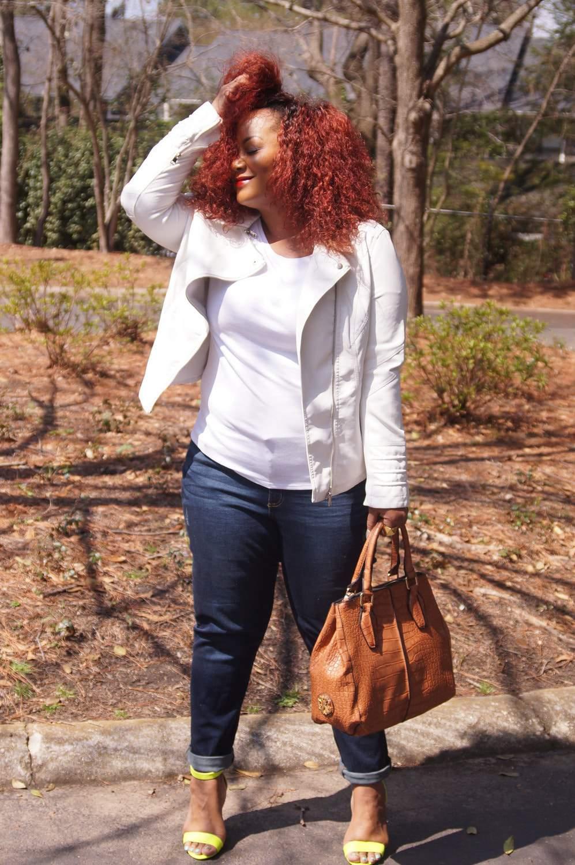 Plus Size Blogger Marie Denee The Curvy Fashionista in Addition Elle