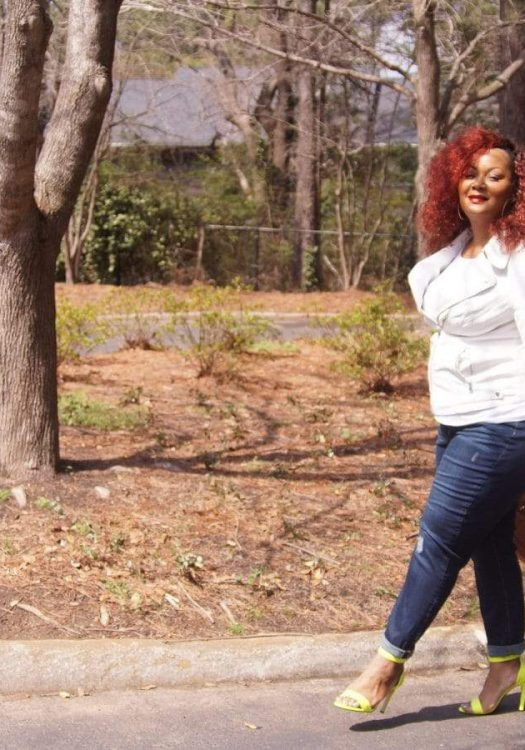 Plus Size Blogger Marie Denee The Curvy Fashionista in Addition Elle