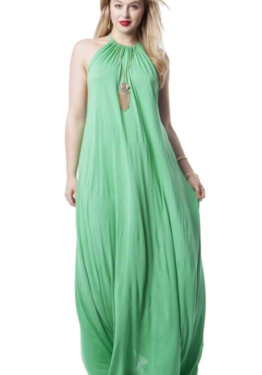Halter Maxi Dress by lauren Moshi Michael Lauren