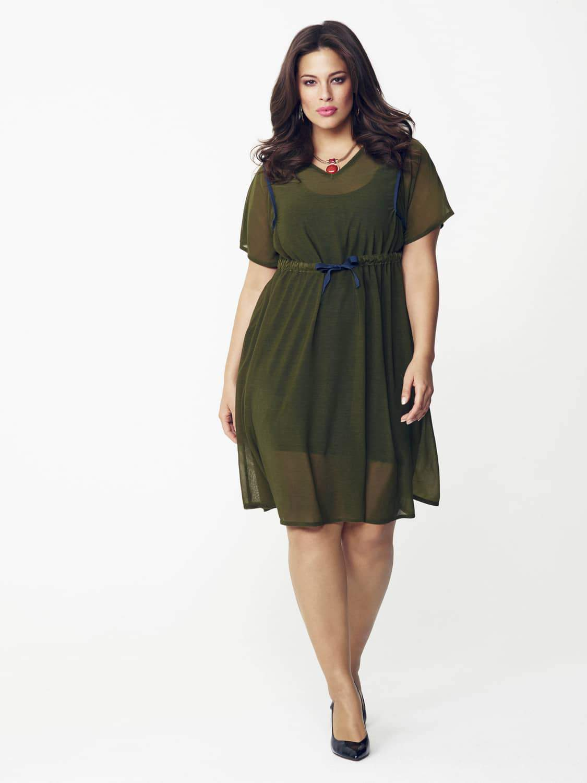 Vita Gottlieb Dress by Evans on TheCurvyFashionista.com