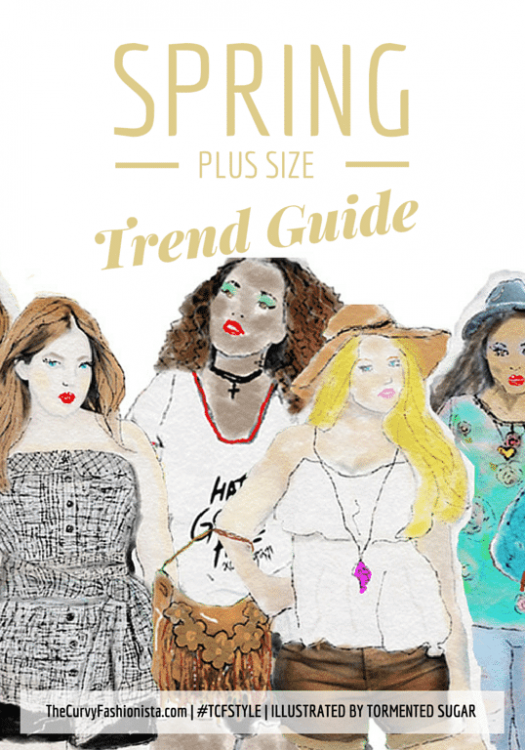 Spring 2015 Plus Size Trends On TheCurvyFashionista.com