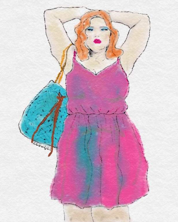 Spring 2015 Plus Size Trends-Sophisticated 70s