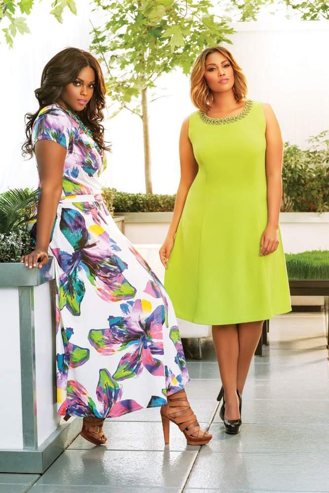 First Look at Plus size designer- Ashley Stewart Spring 2015 on The Curvy Fashionista