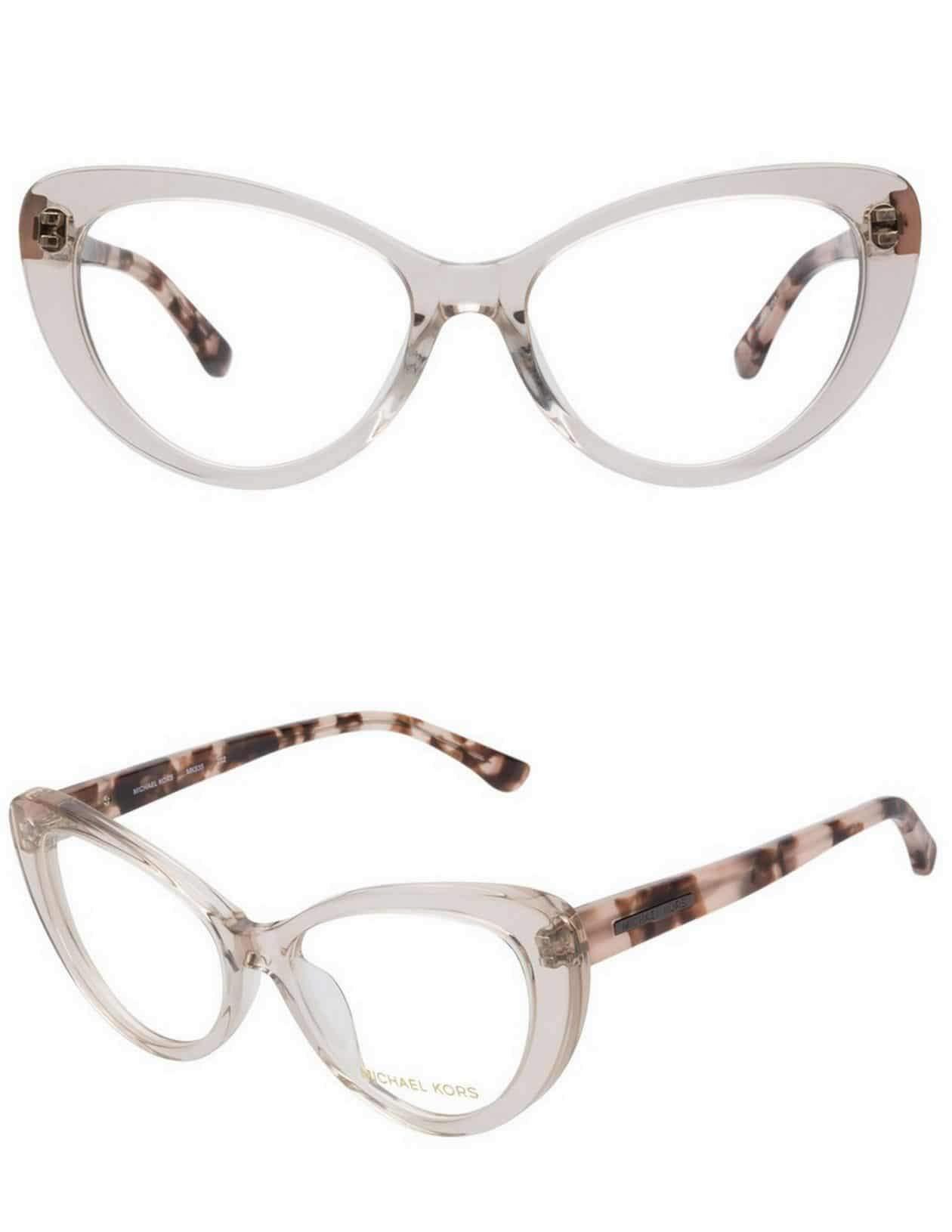My New Michael Kors Clear Cat Eye Glasses from Coastal.com