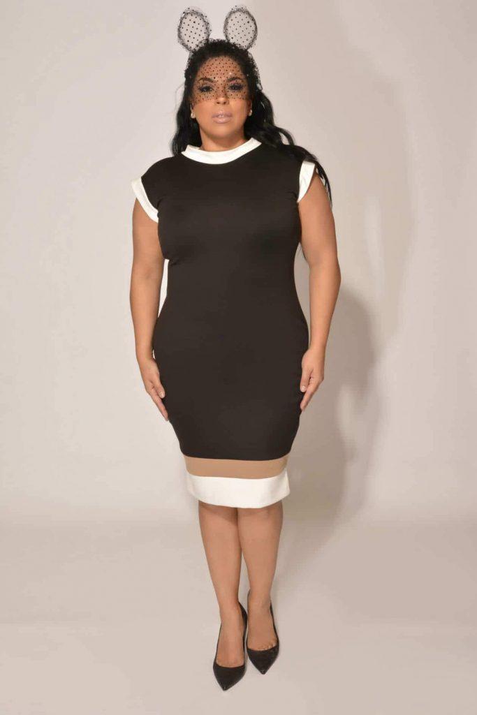 Plus Size Designer Christian Ome'shun: Urbane Chic Collection on TheCurvyFashionista.com