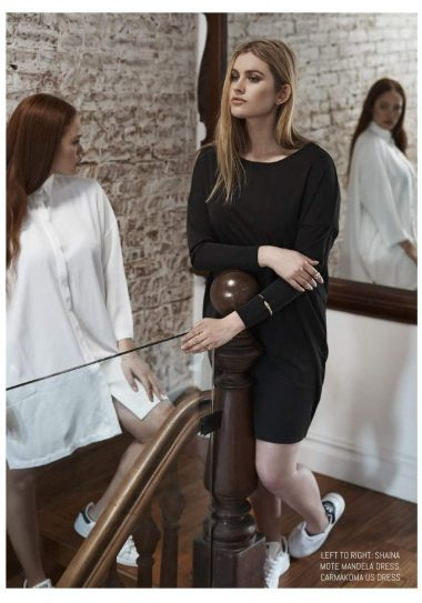 Minimal and Chic Luxury Plus Size Fashion with Mei Smith on the Curvy Fashionista #TCFStyle