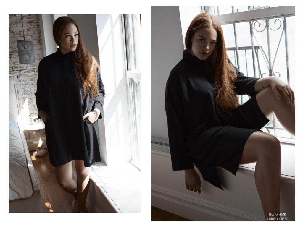 Minimal and Chic Luxury Plus Size Fashion with Mei Smith
