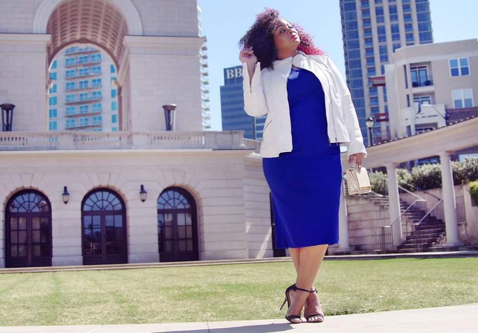 Atlanta City Life in Marina Rinaldi's Latest Plus Size Blogger Campaign