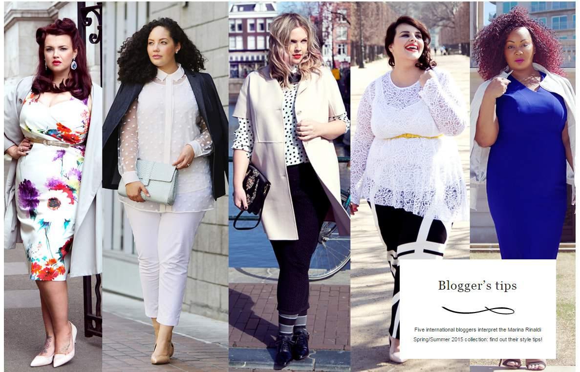 My Style: Atlanta City Life in Marina Rinaldi's Latest Campaign
