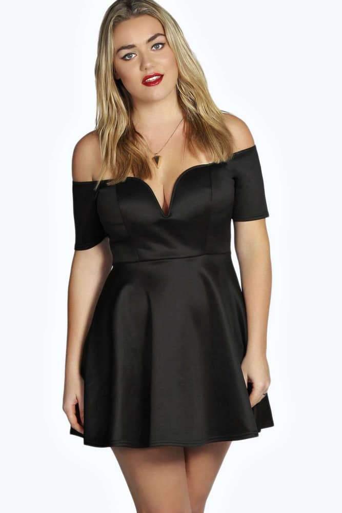 9 Petite Plus Size Spring Dresses on TheCurvyFashionista.com #TCFStyle