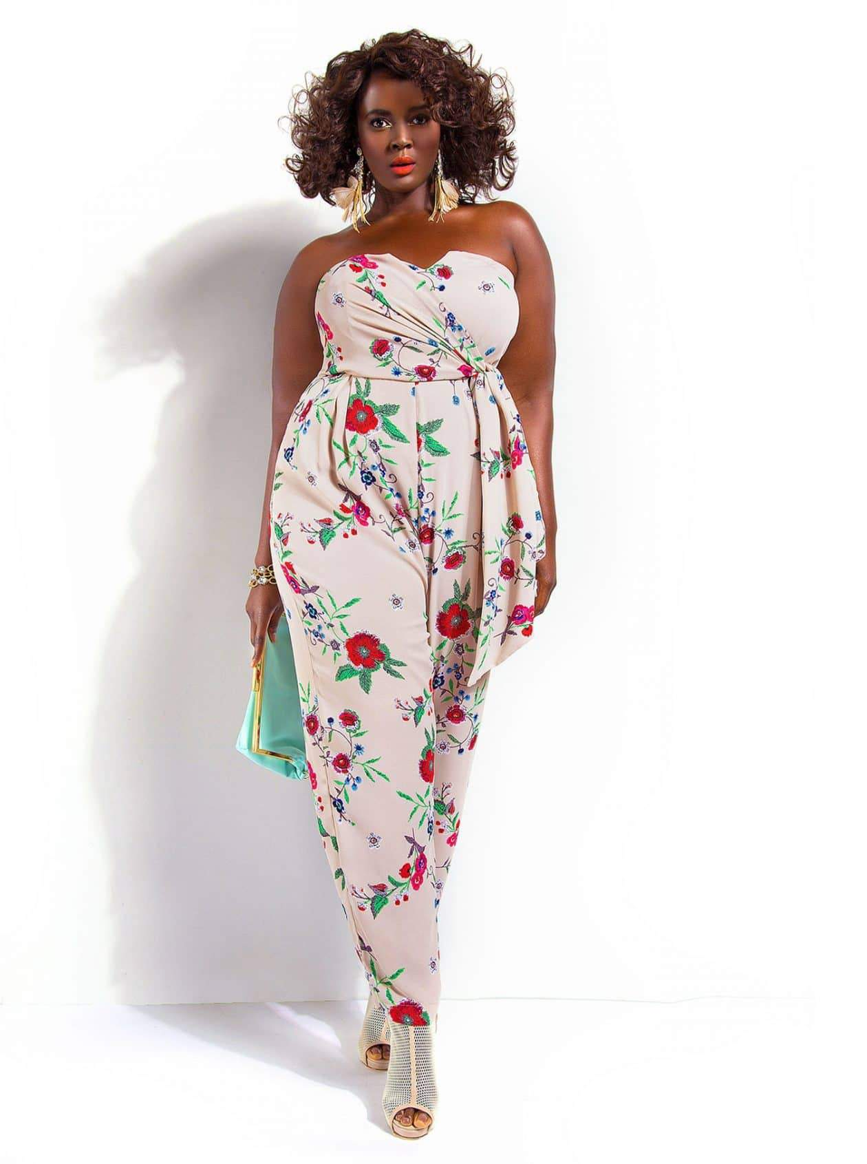 #TCFStyle Find of the Day: Monif C Plus Sizes Sydney Strapless Jumpsuit