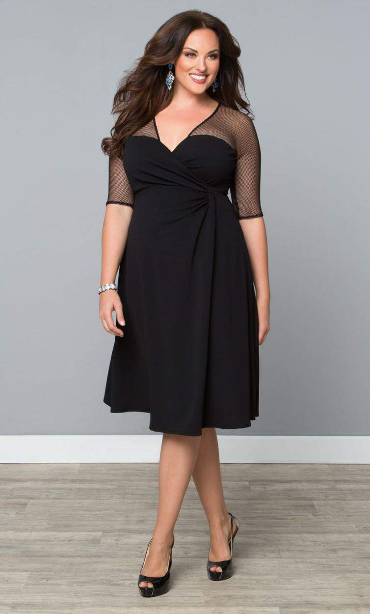 TCFStyle Find of the Day Sugar and Spice Dress by Kiyonna via TheCurvyFashionista.com