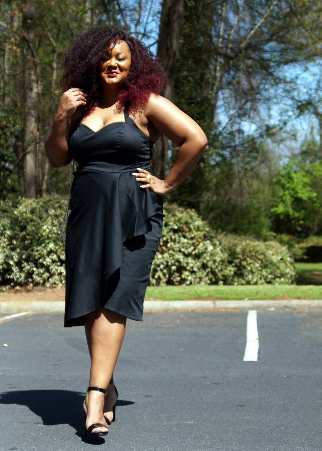 Marie Denee Playing Dress Up in Pin Up Girl Clothing via TheCurvyFashionista.com