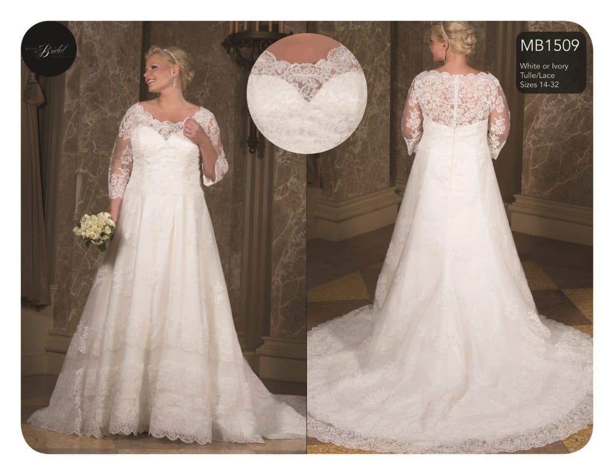 Plus Size Bridal with Sydney's Closet on TheCurvyFashionista.com