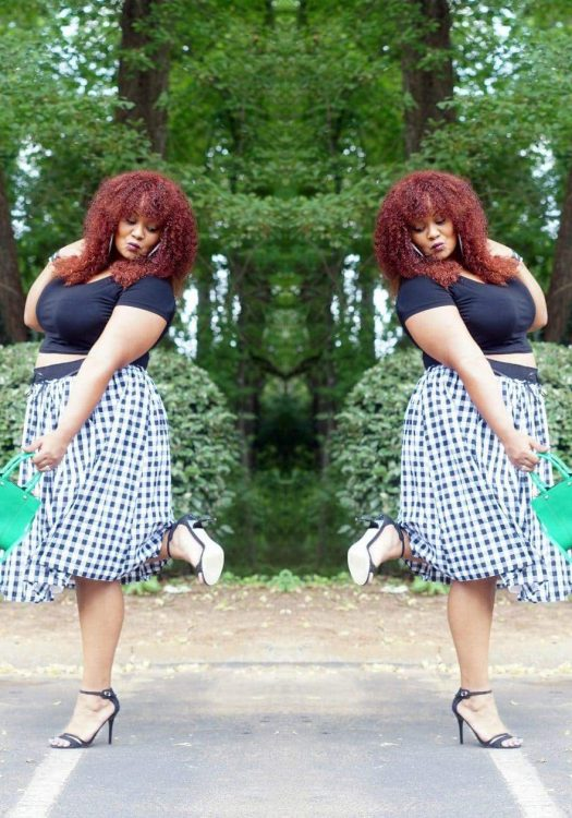 My Style: Gingham and a Bit Playful In Eloquii