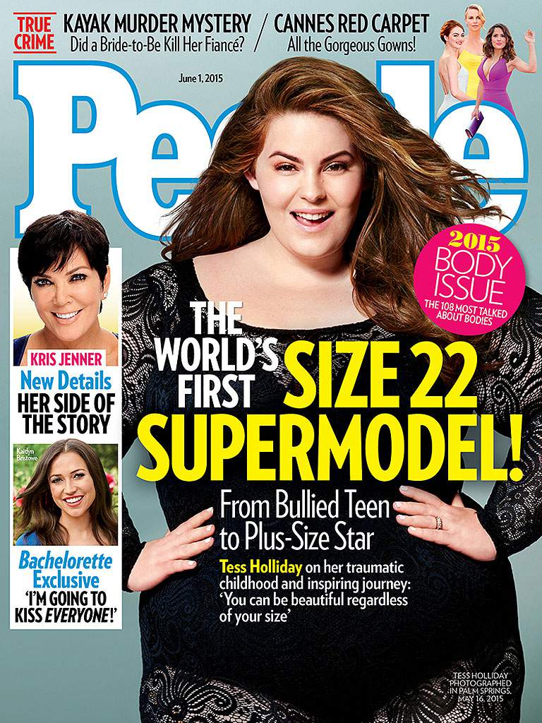 Tess Holliday People Magazine Cover