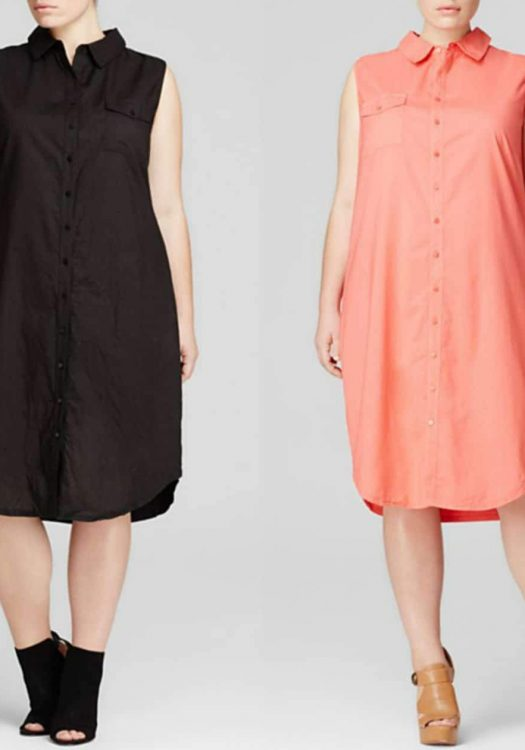 #TCFStyle Find of the Day: Three Dots Sleeveless Shirt Dress
