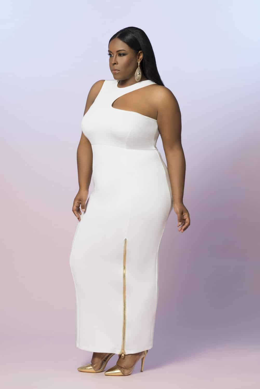 Z by Zevarra White Label Plus Size Designer Summer Collection on The Curvy Fashionista