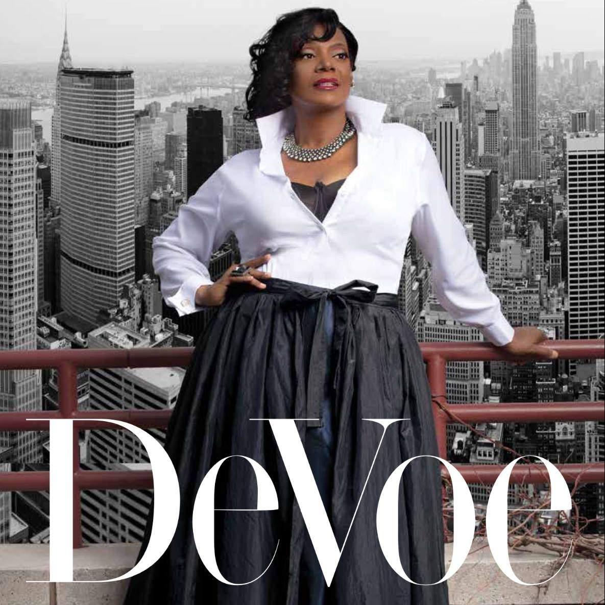Marie Denee The Curvy Fashionista in DeVoe Magazine