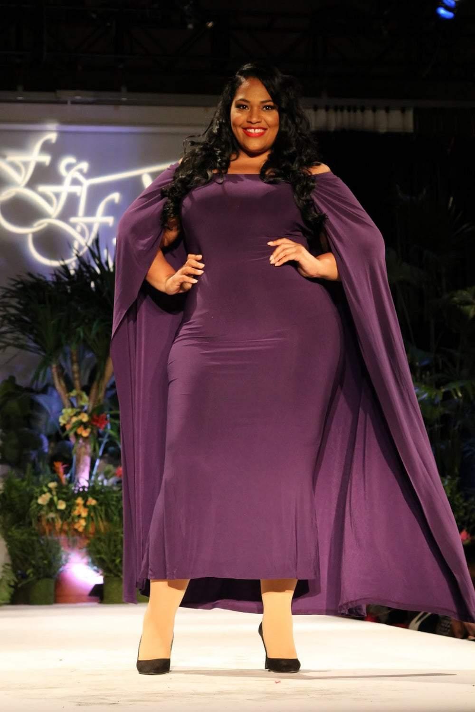 Serita Bell at Full Figured Fashion Week 2015 7