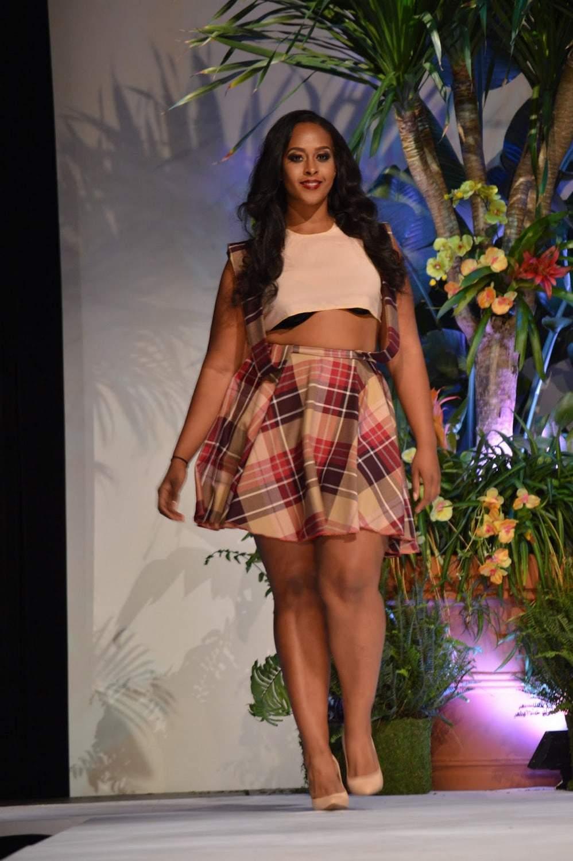 Curves Make A Woman by Bobbi Harris at Full Figured Fashion Week 2015