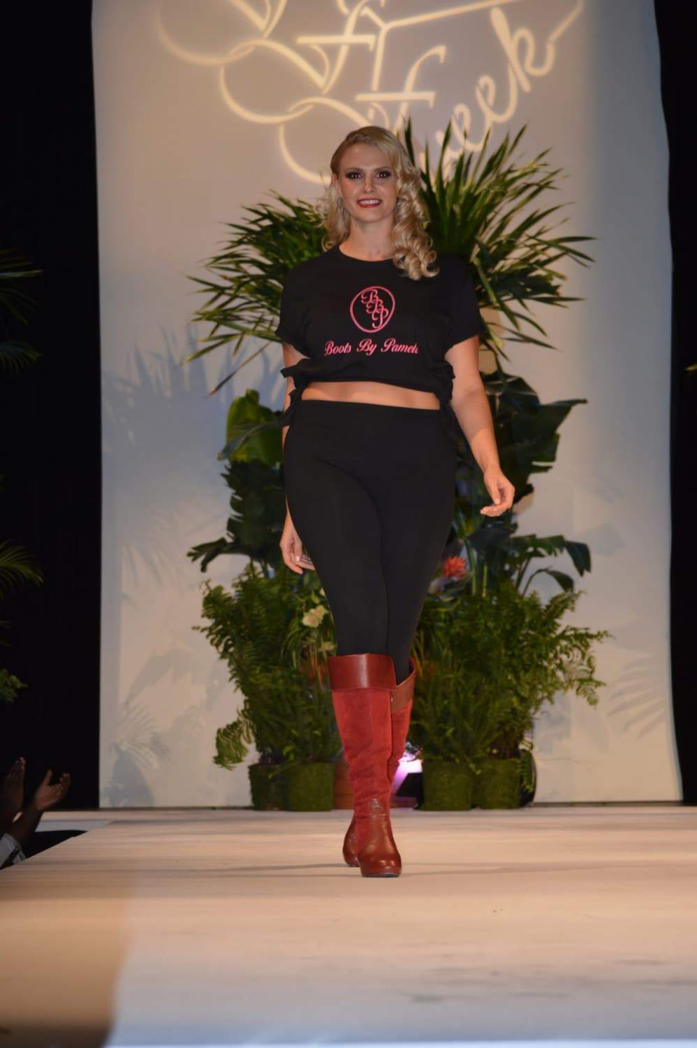 Boots by Pamela at Full Figured Fashion Week 2015 8