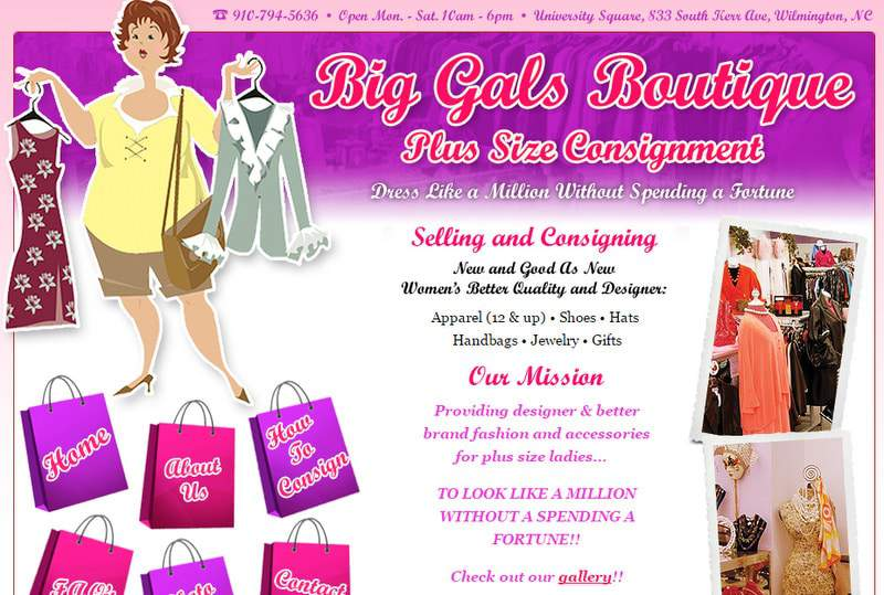 Five Plus Size Boutiques to Keep Your Eye On- Big Gals Boutique on TheCurvyFashionista.com