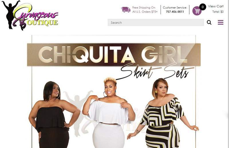 Five Plus Size Boutiques to Keep Your Eye On- Curvaceous Boutique on TheCurvyFashionista.com
