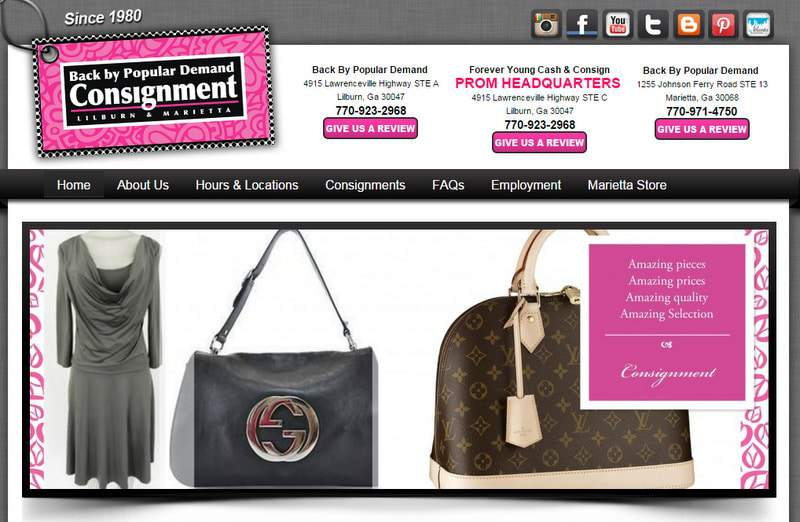 Five Plus Size Boutiques to Keep Your Eye On- Back By Popular Demand Consignment on TheCurvyFashionista.com