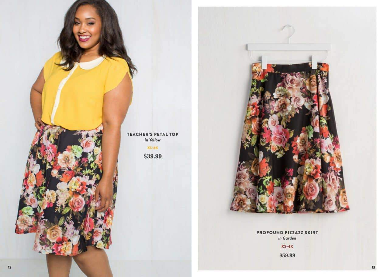 ModCloth Debuts their Own Fall 2015 Collection (Including Plus Sizes!) on TheCurvyFashionista.com