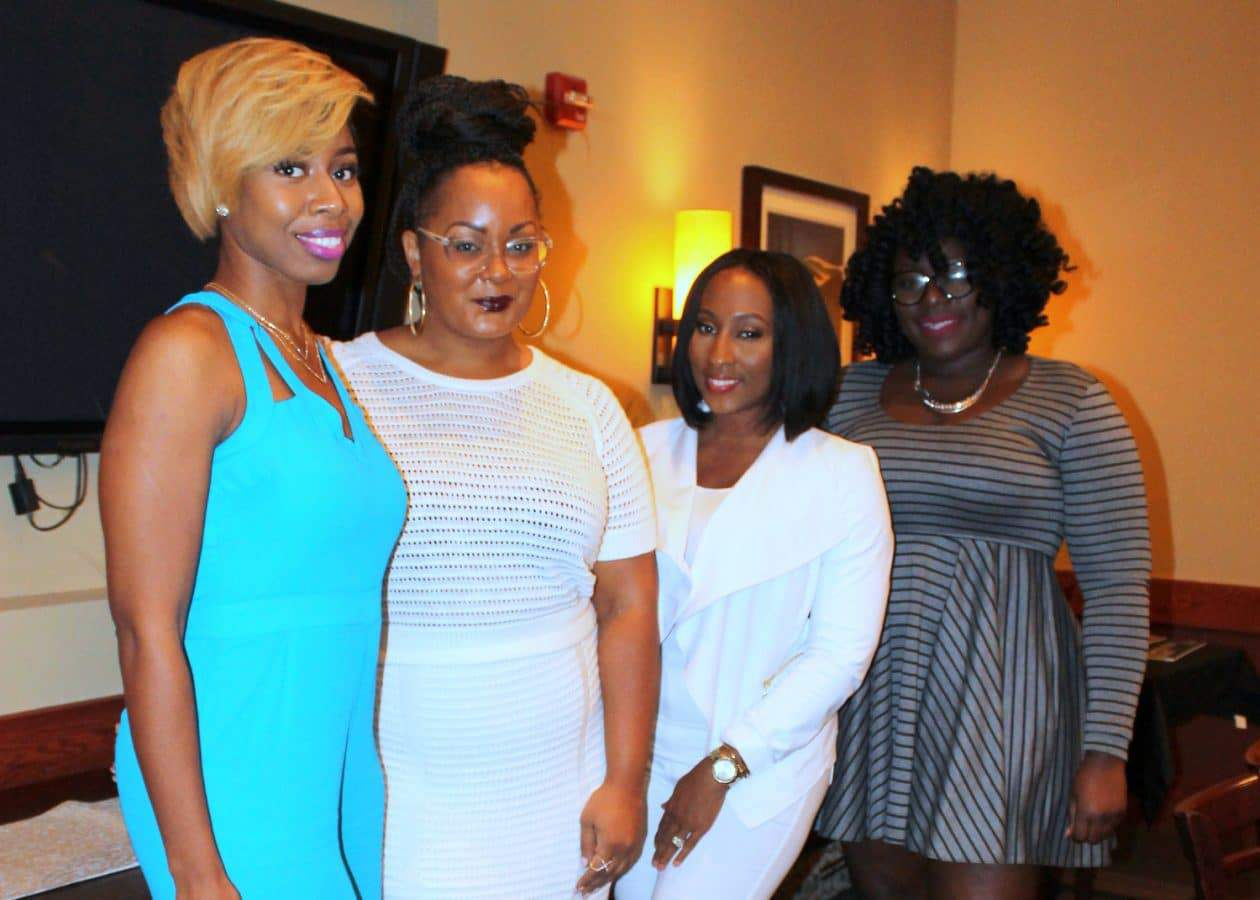 Plus Size Blogger Marie Denee The Curvy Fashionista in Eloquii at the Fashionably Noted Brunch