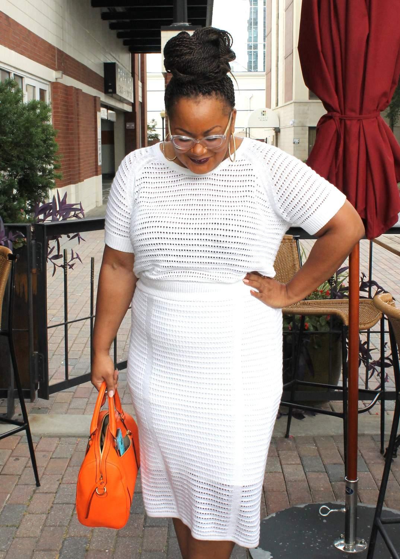 Plus Size Blogger Marie Denee The Curvy Fashionista in Eloquii