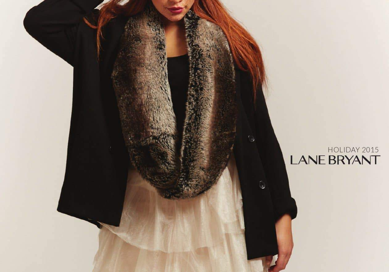 First Look at Lane Bryant's Holiday Look Book on The Curvy Fashionista