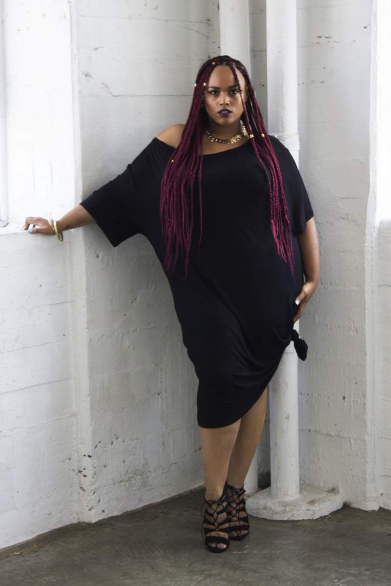 "Plus Size Designer: Zelie for She Pre-Fall 2015 ""Stripped"" Collection on TheCurvyFashionista.com #TCFStyle"
