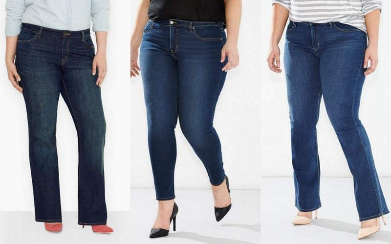 Five Plus SIze Denim and Jean Brands on the Curvy Fashionista