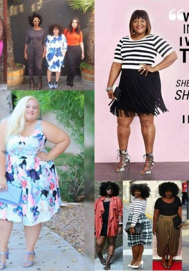 Six Plus Size Looks We Love on The Curvy Fashionista #TCFStyle