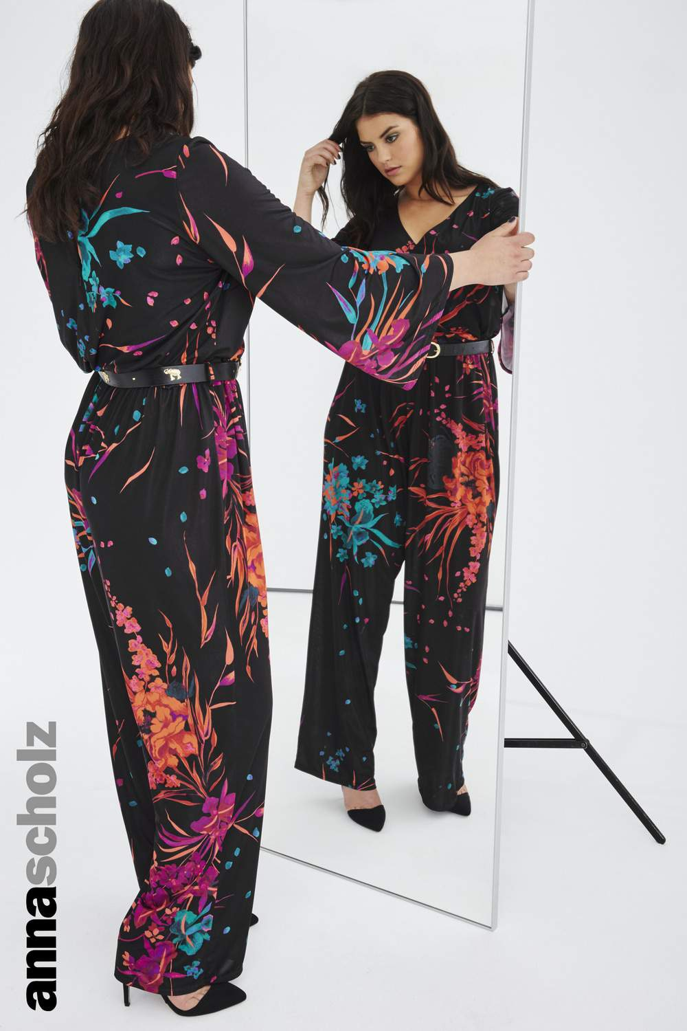 Plus Size Luxury Designer Anna Scholz Fall 2015 Collection on the Curvy Fashionista