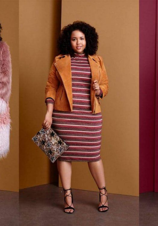 Gabi Fresh Slays in the ASOS Curve Fall Look Book
