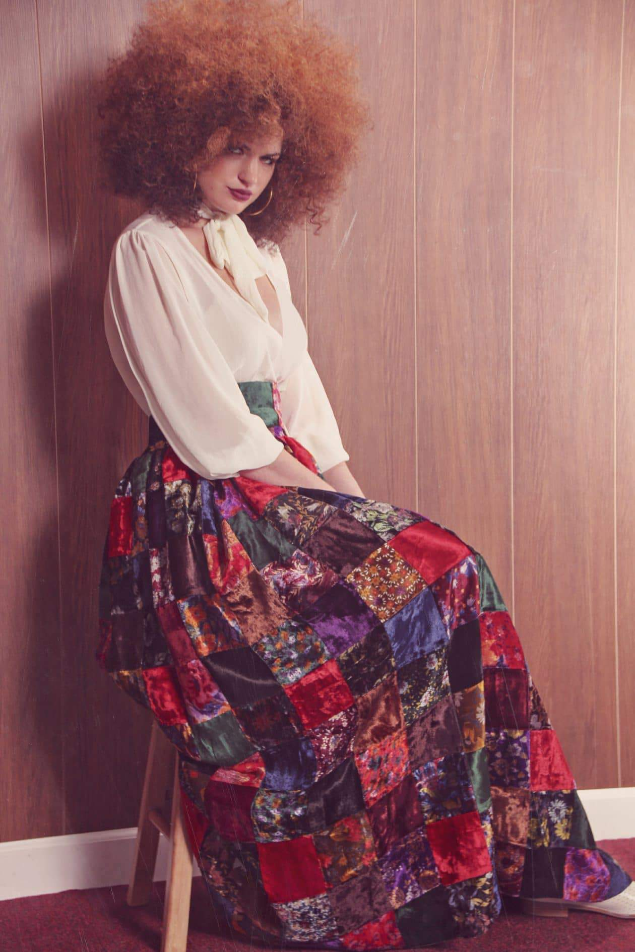Taking It Back to the 70s with the Jibri Fall 2015 Collection on TheCurvyFashionista.com #TCFStyle