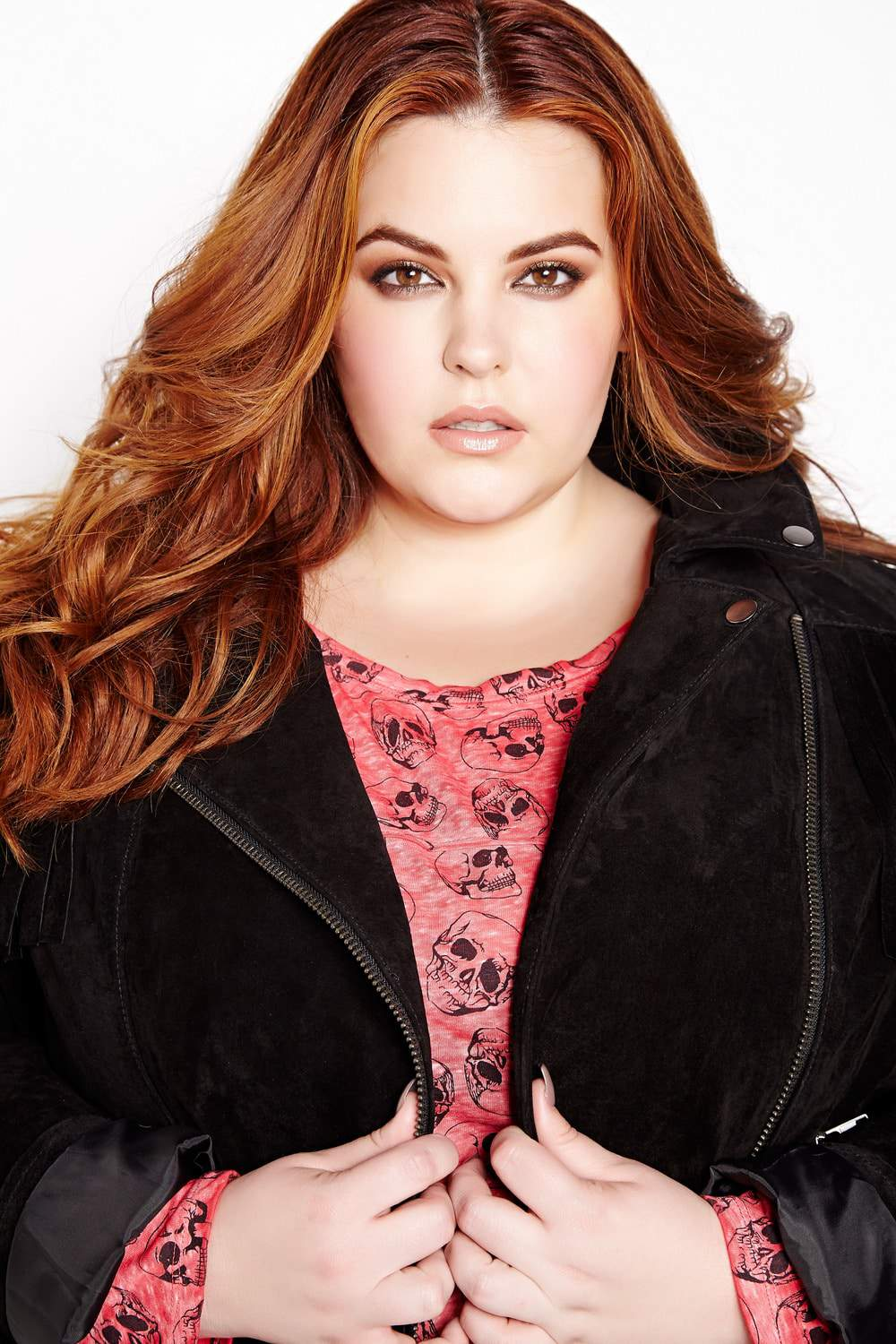 The Addition Elle Fall Look Book featuring Tess Holliday on TheCurvyFashionista.com #TCFStyle