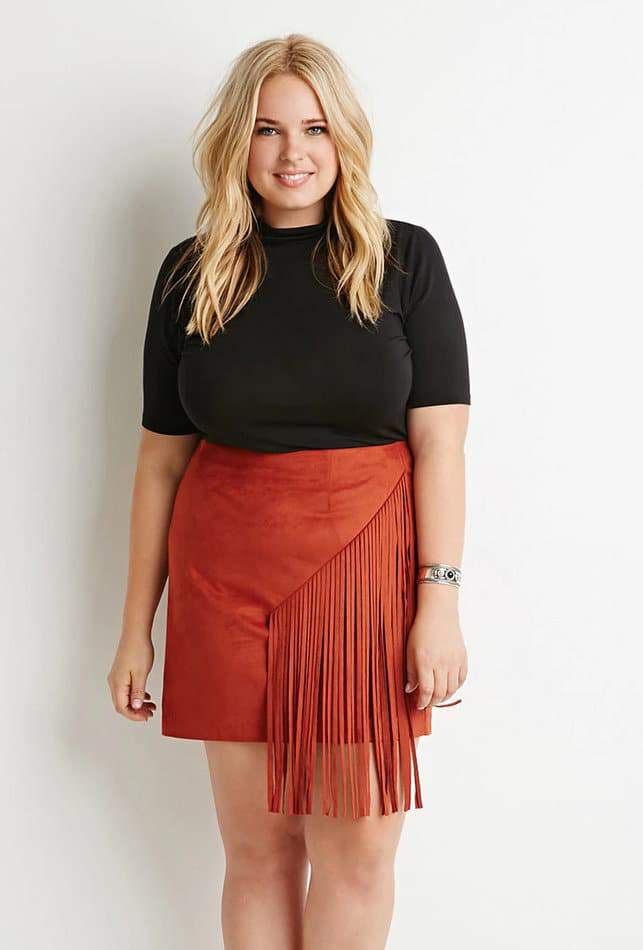 15 Plus Size Suede Picks to Heat Up Your Fall Style NOW on The Curvy Fashionista #TCFStyle