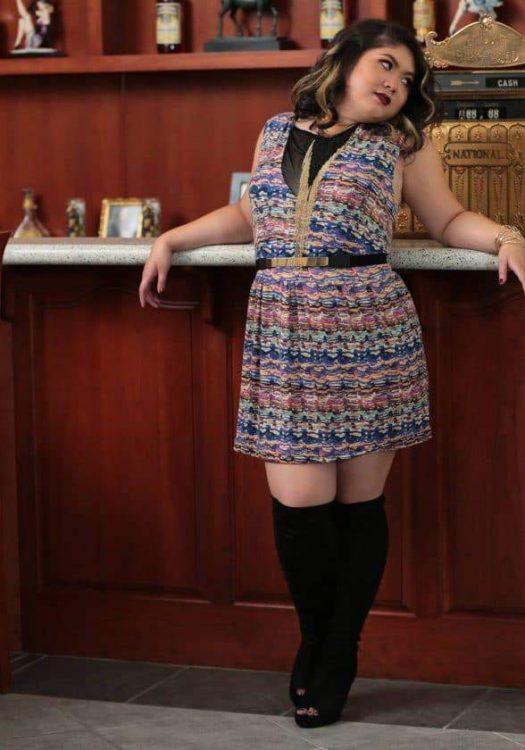 First Look:  Myrda J Designer Apparel Petite Plus Size & Custom