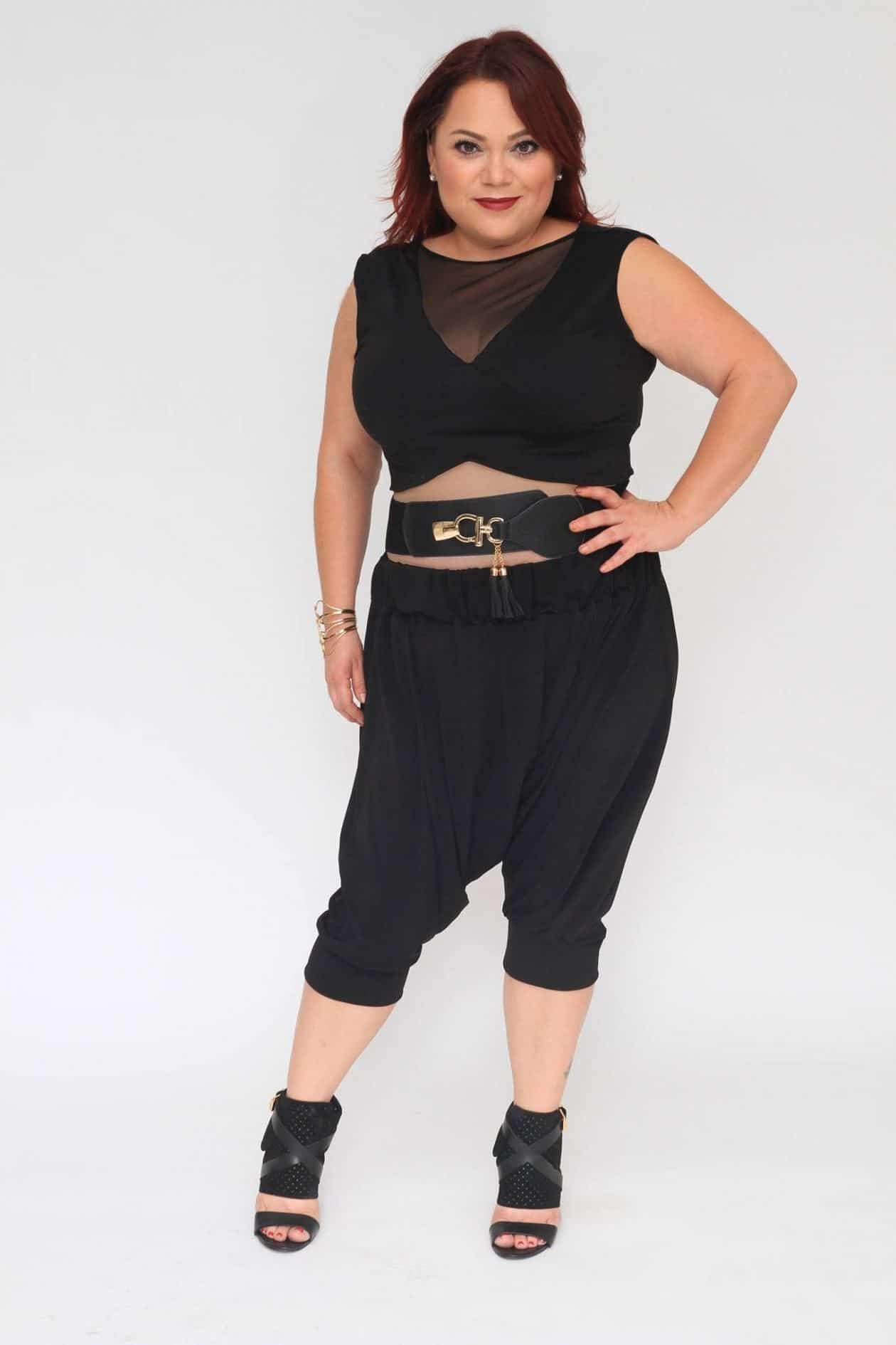 Myrda J Petite Plus Size & Custom: Harem Pants