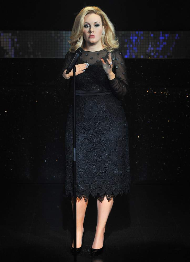 Adele in the Wax Museum