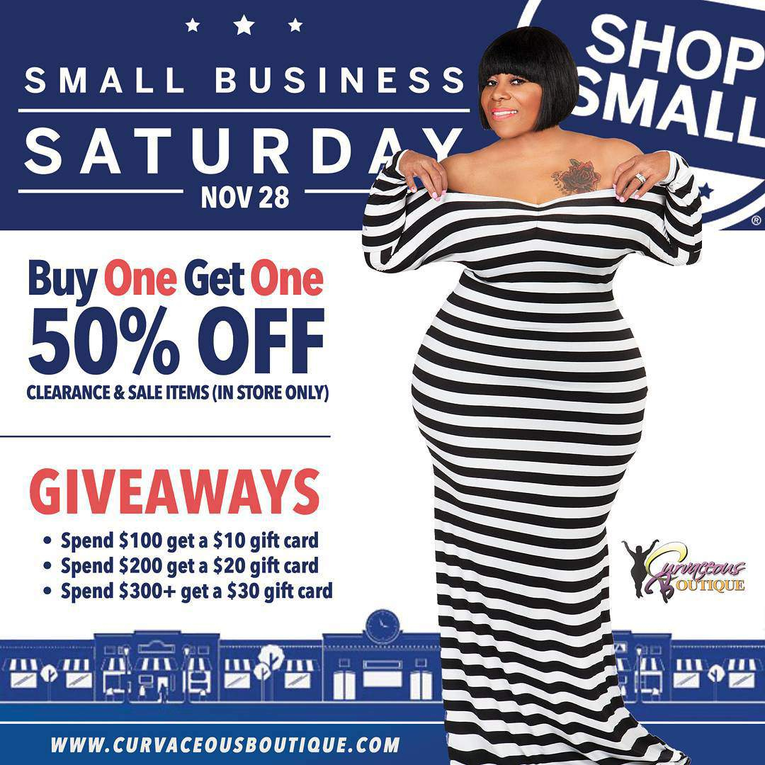 Curvaceous Boutique Small Business Saturday