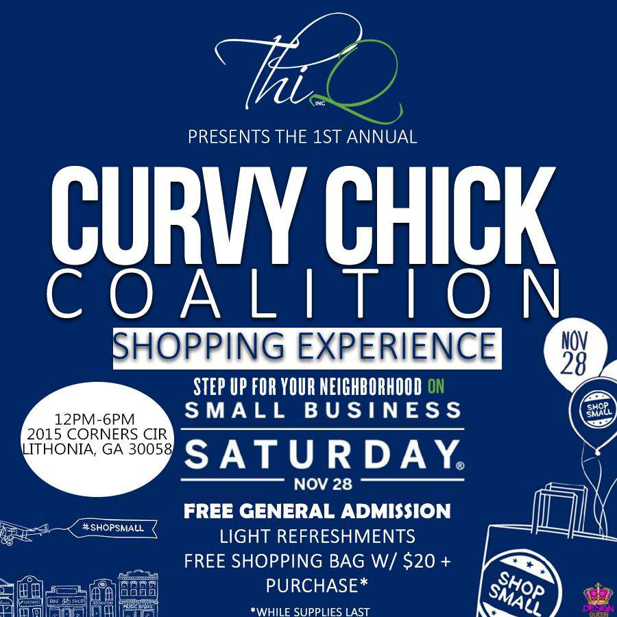 Curvy Chick Coalition flyer