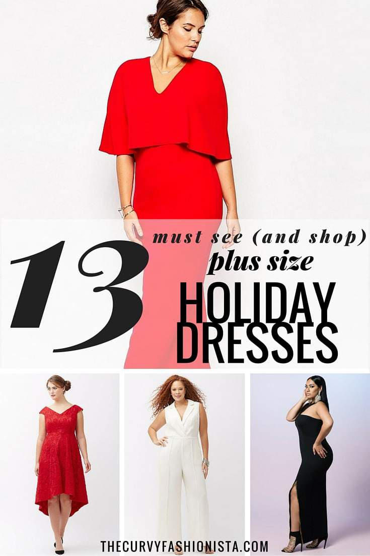 13 Plus Size Holiday Dresses