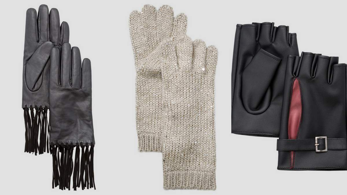 Ashley Stewart Plus Size Gloves