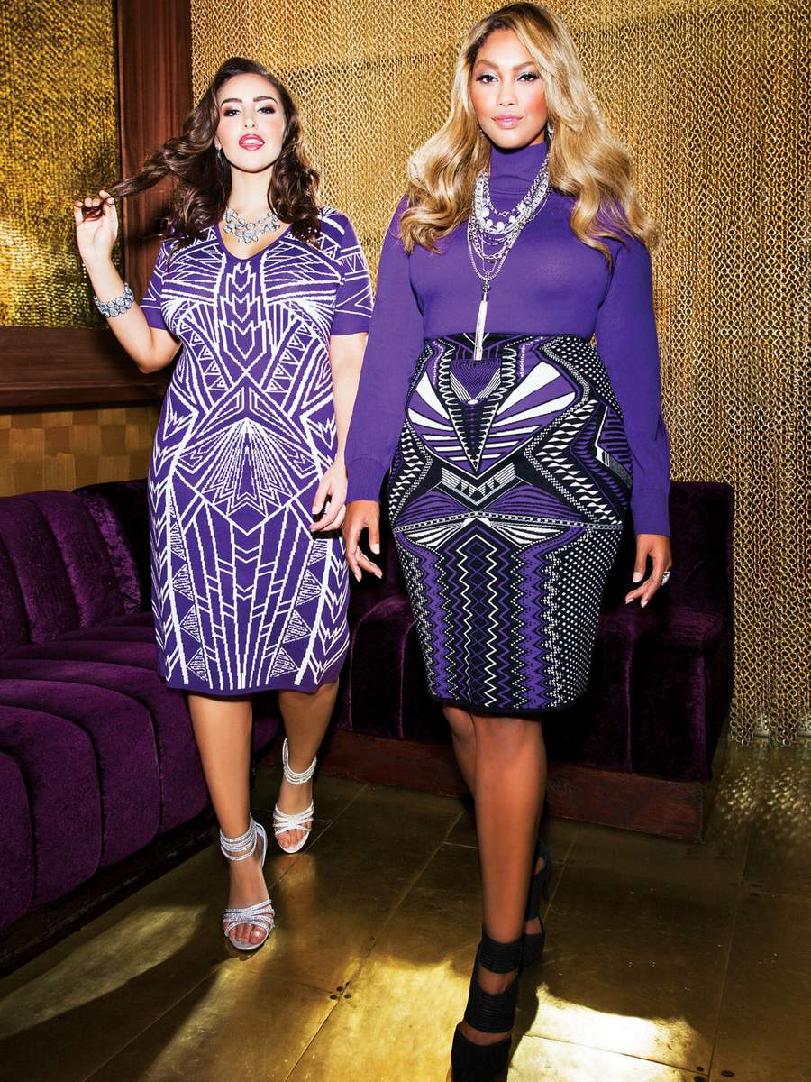 the Ashley Stewart Holiday Collection on The Curvy Fashionista